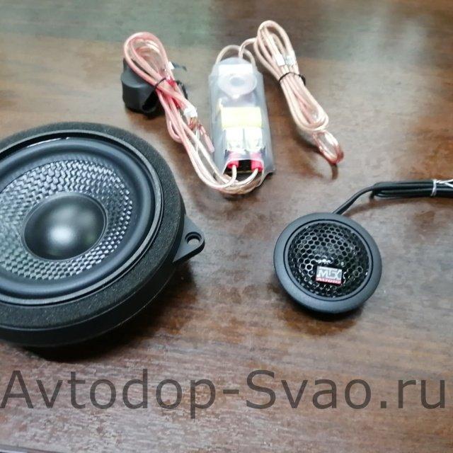 Установка акустических систем