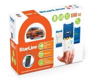 Установка автосигнализации StarLine S96 v2 2CAN+4LIN 2SIM GSM GPS