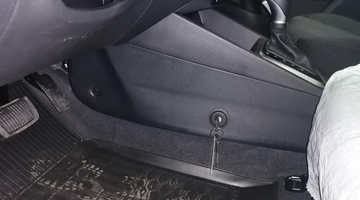 Механический замок на АКПП Nissan Murano