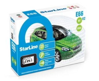 Автосигнализация StarLine E66 v2 BT ECO 4CAN-2LIN